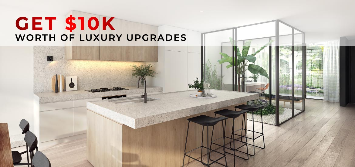 Get $10K worth of luxury upgrades options in your new home