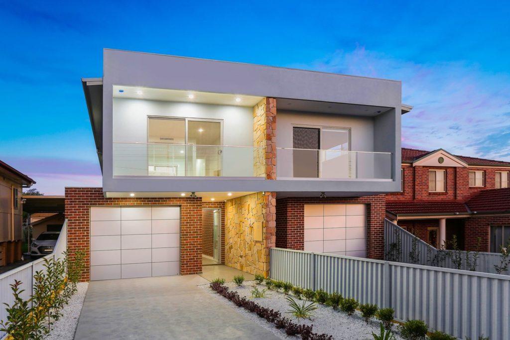 modern duplex homes
