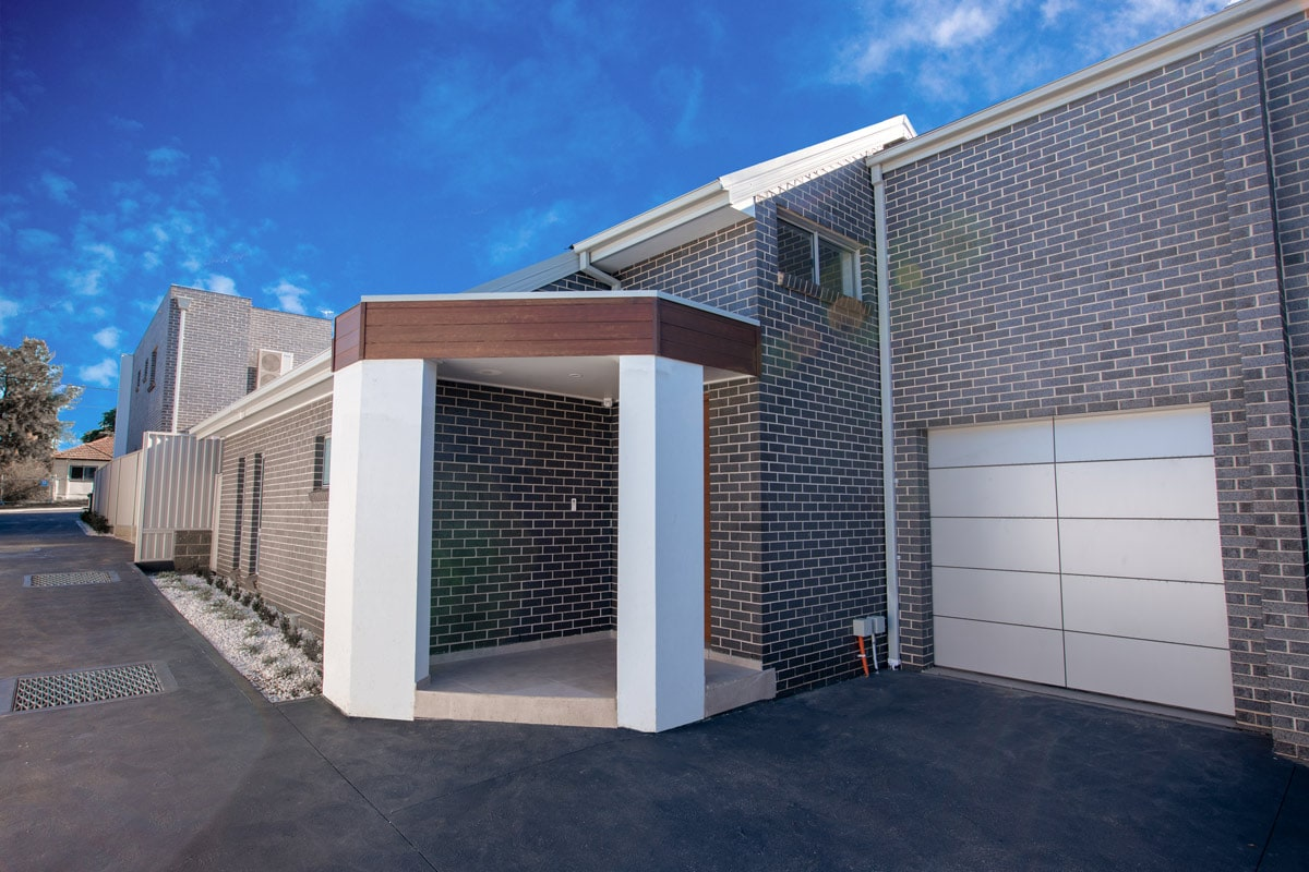 townhouse builder sydney